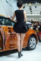 荣威展台6号模特