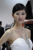 起亚展台1号模特