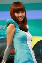 丰田展台5号模特