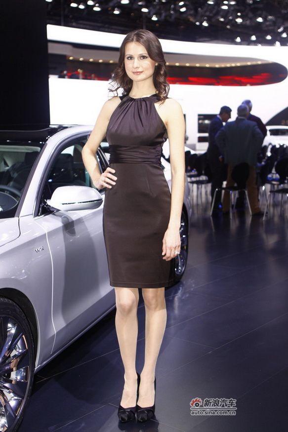 2011北美车展美女车模
