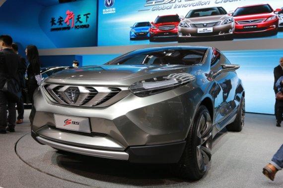 长安cs95价格 长安cs95预售价格 中国汽车长安cs95概念车 高清图片