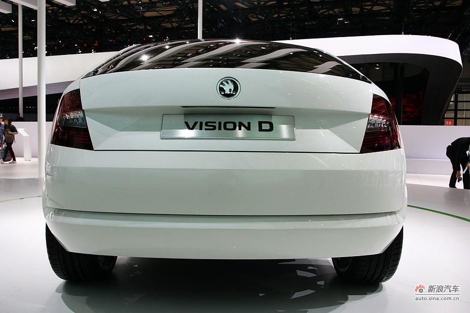 斯柯达Vision D