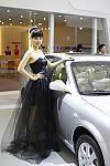 奇瑞汽车展台21号模特