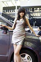 奇瑞汽车展台9号模特