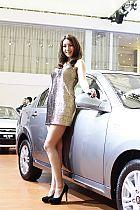 奇瑞汽车展台7号模特