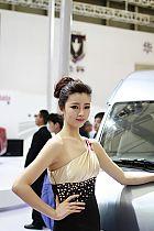 华晨汽车展台1号模特