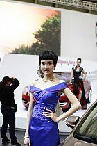 华晨汽车展台2号模特