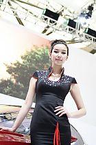 华晨汽车展台5号模特
