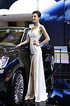 吉利汽车展台1号模特