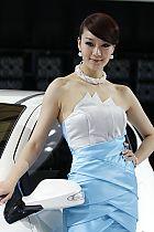 长安汽车展台4号模特
