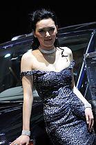Jeep展台1号模特