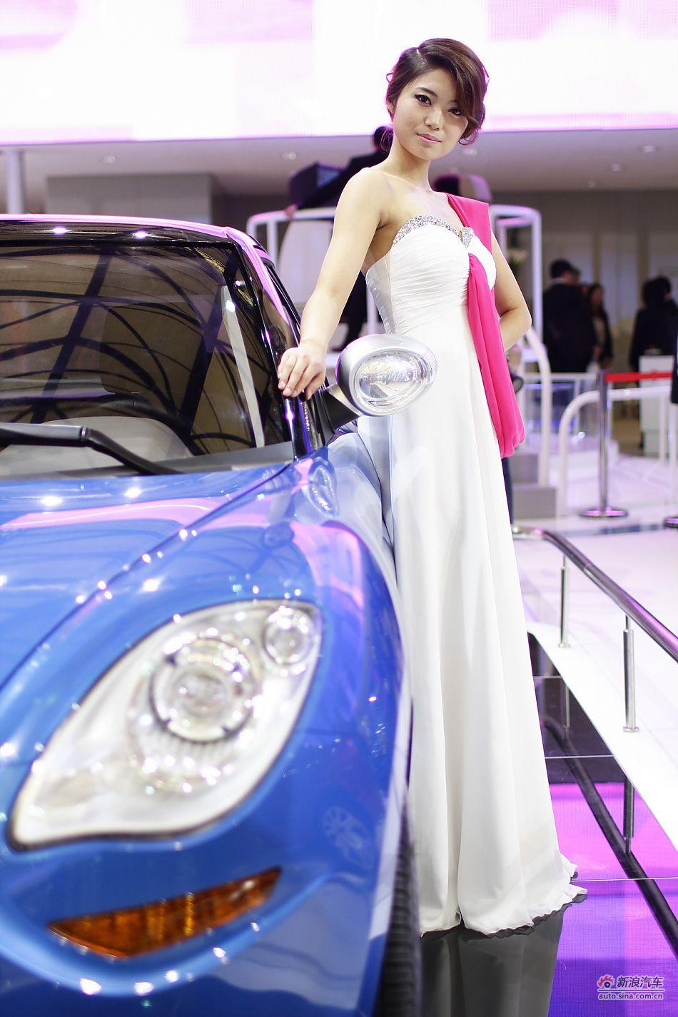 吉利汽车3号模特