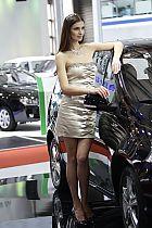 东风柳汽展台1号模特