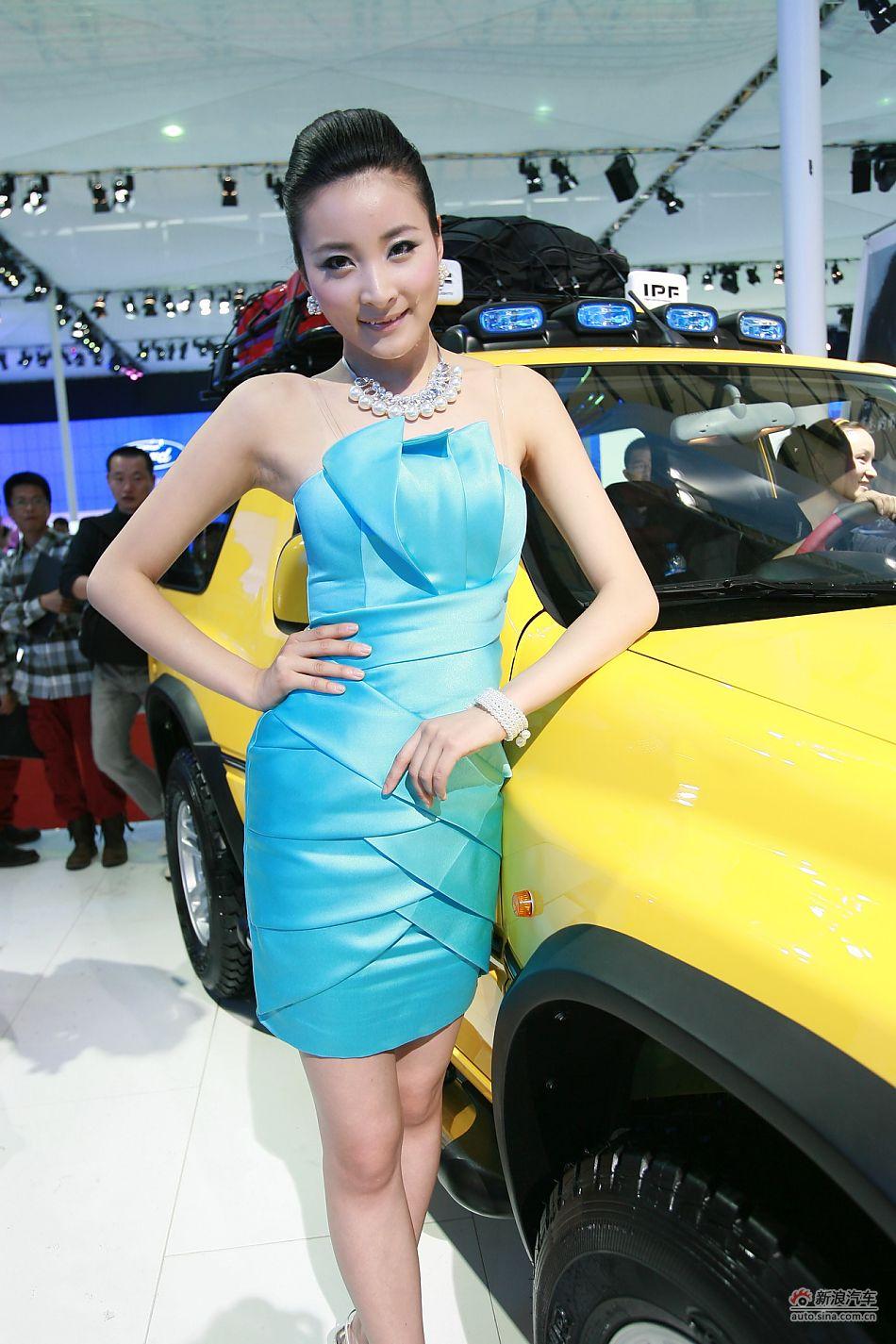 长安汽车11号模特