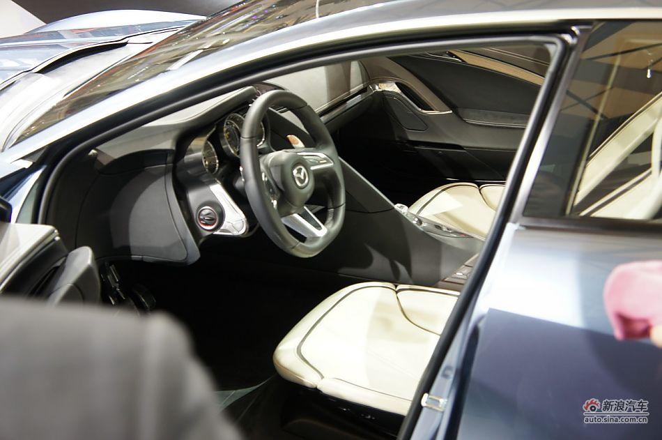 马自达概念车型Shinari