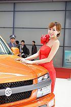 黄海汽车2号模特