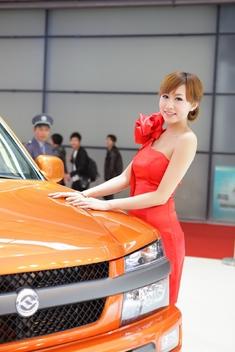 2011上海车展香肩车模_2