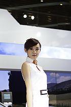 本田展台1号模特