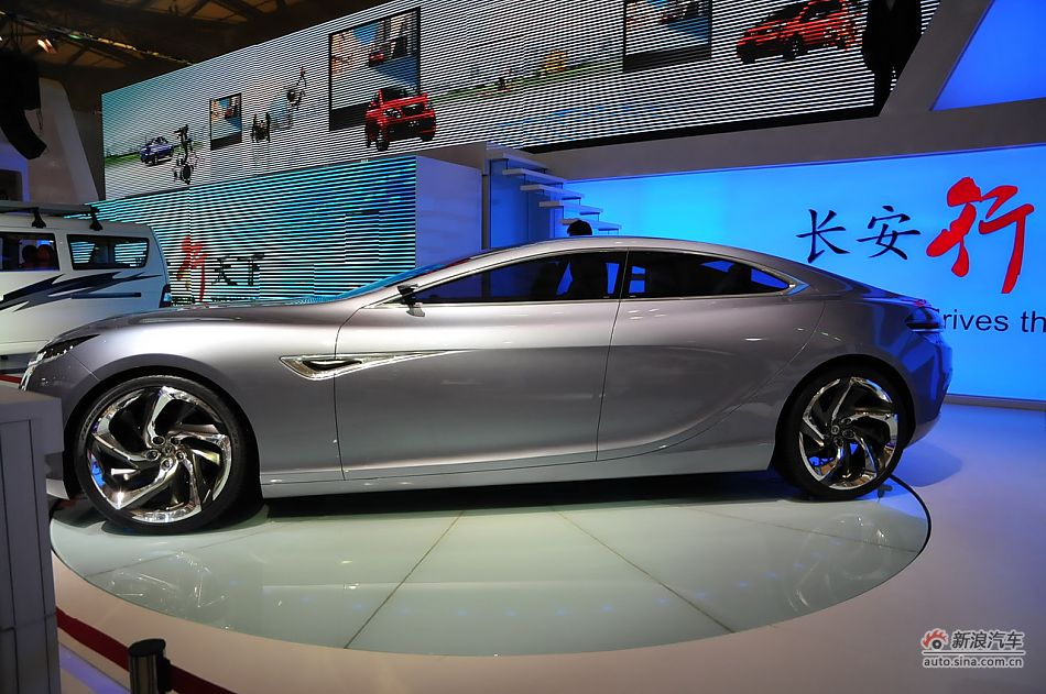 VWVortex.com - Changan Sense Sports Sedan Concept unveiled in Shanghai