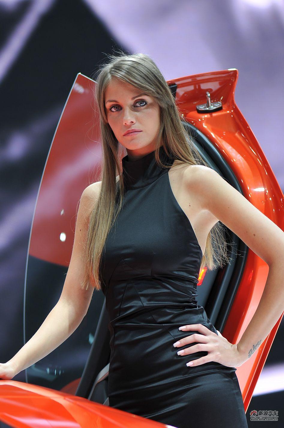 兰博基尼3号模特