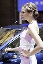 福特展台5号模特
