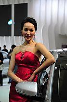 起亚展台4号模特