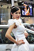 起亚展台5号模特