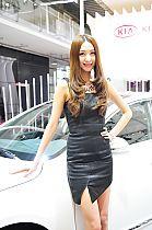 起亚展台6号模特