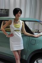 起亚展台7号模特