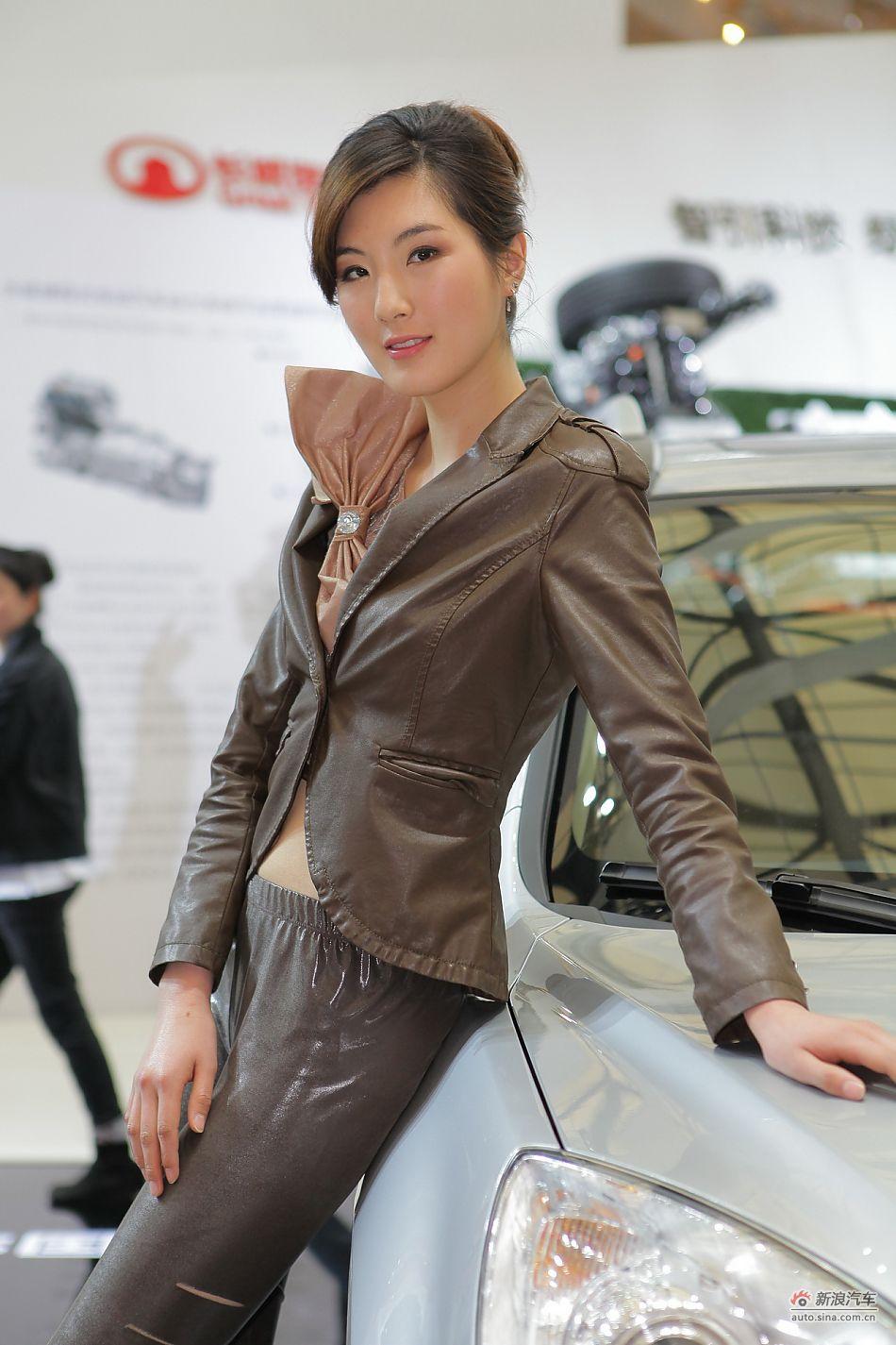长城汽车7号模特