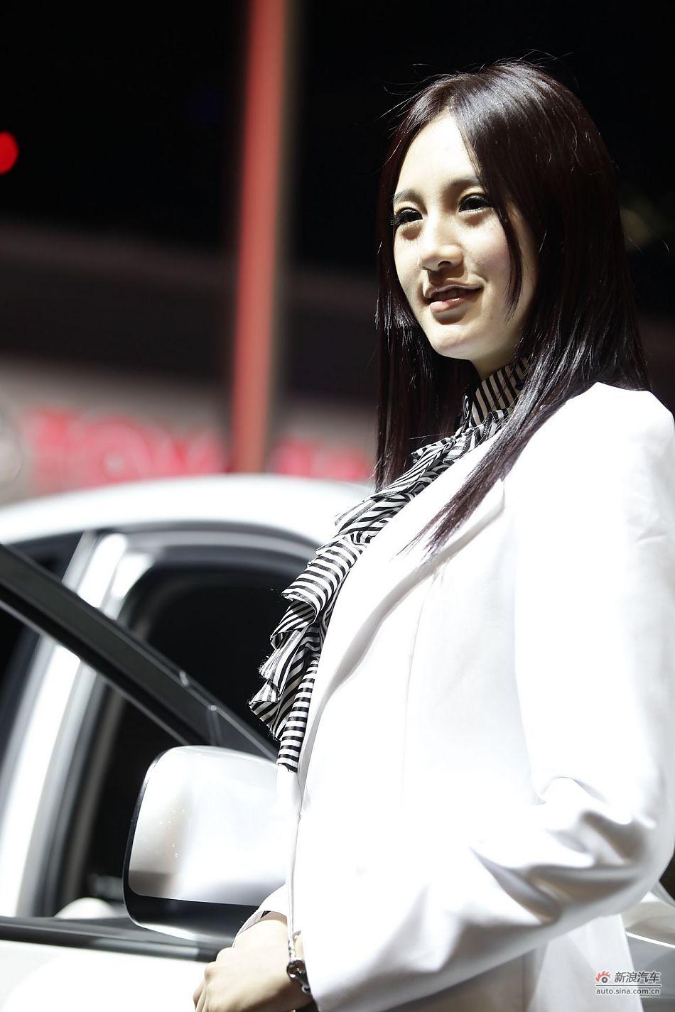 丰田展台7号模特