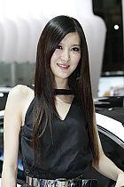 起亚展台2号模特