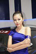 成都车展142号模特