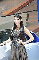 成都车展148号模特