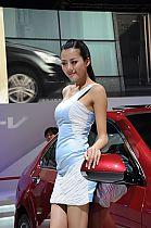 成都车展155号模特
