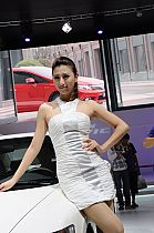 成都车展154号模特