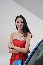 成都车展62号模特