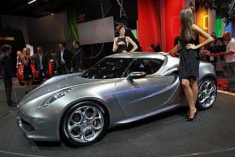 阿尔法罗密欧4C概念车