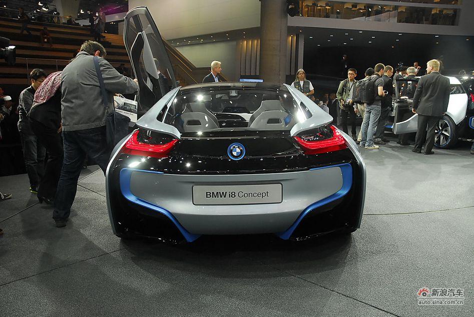 i8_宝马i8spyder概念车于北京全球首发
