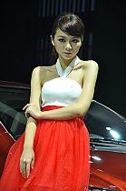 本田展台2号模特