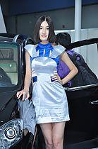 纳智捷展台1号模特