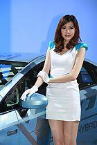 丰田展台11号模特