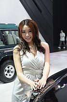 广汽长丰展台7号模特