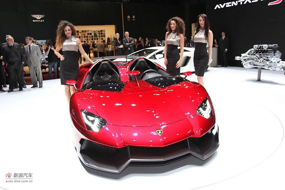 兰博基尼Aventador J