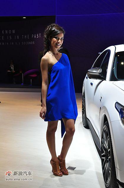 日内瓦车展模特