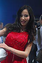 长城展台4号模特
