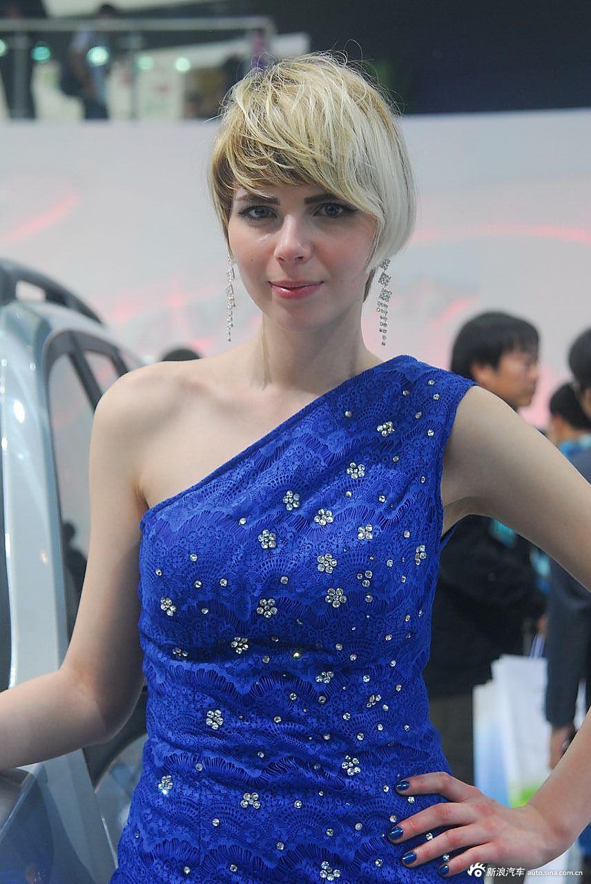 长城展台8号模特