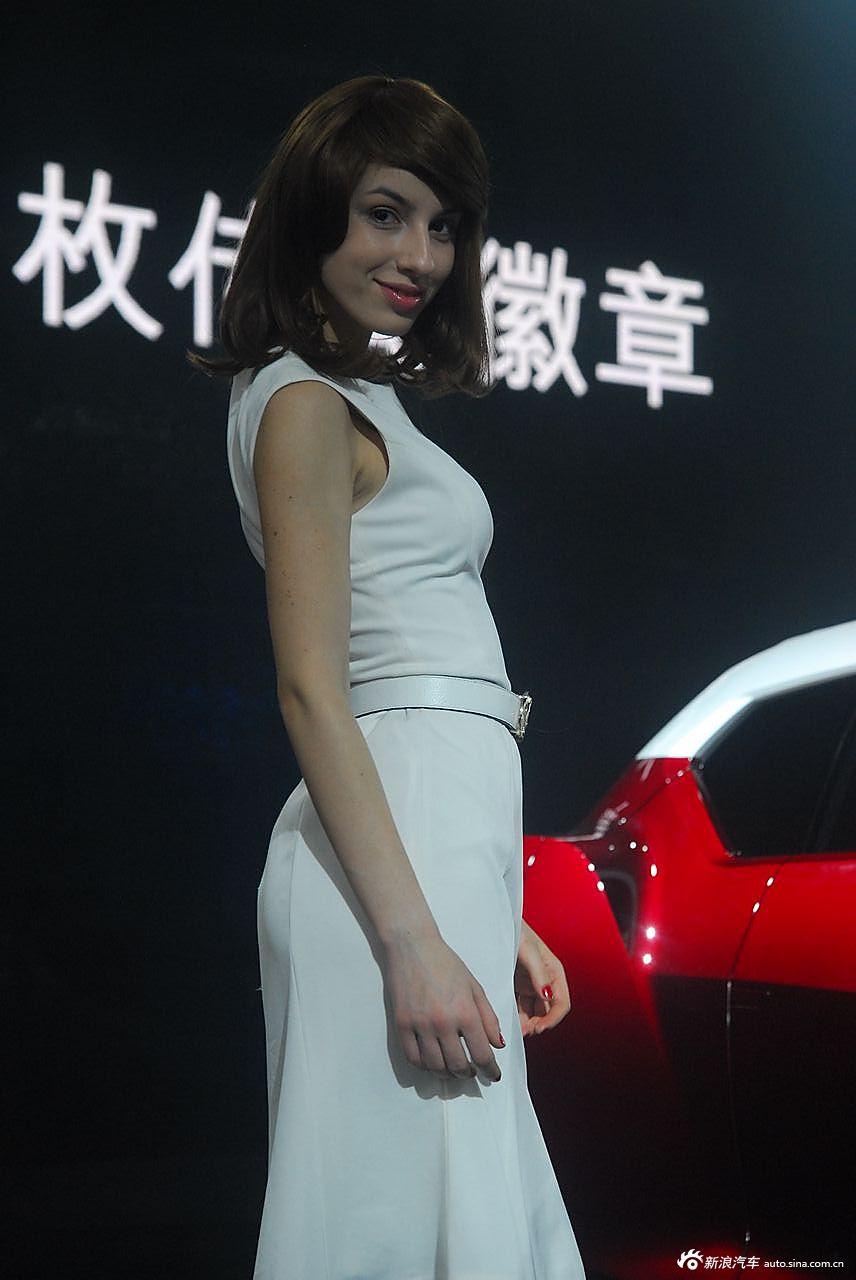MG展台1号模特