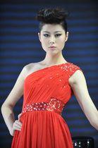 北京汽车展台2号模特