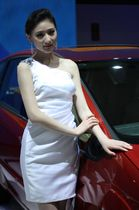 福特展台3号模特